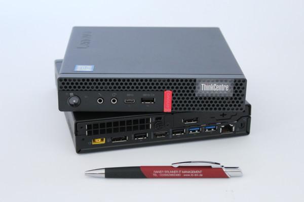 ThinkCentre Tiny M910q i5-7500T - 8GB RAM - 256GB SSD NVMe - Win10 - W-LAN