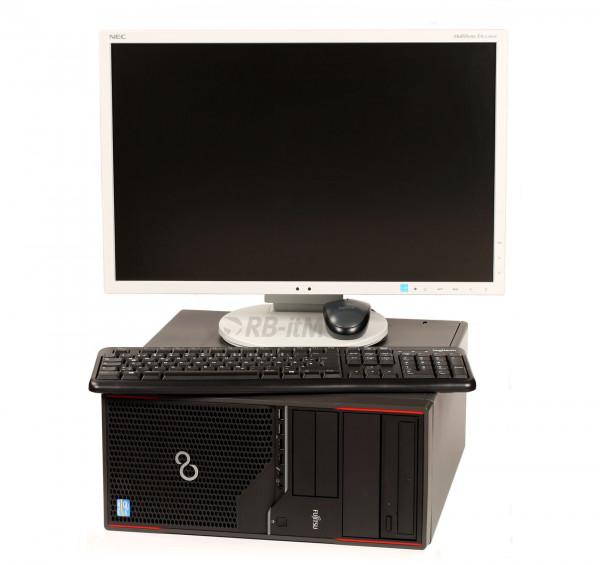 Celsius W410 - i5-2400 - 8GB DDR3 - 128GBSSD - 500GBHDD - Win10 - NEC EA223WM - Tast./Maus Logitech