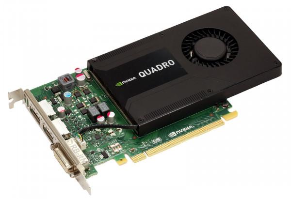 NVIDIA Quadro K2200 - 4GB GDDR5 - 1x DVI-D DL - 2x DP 1.2