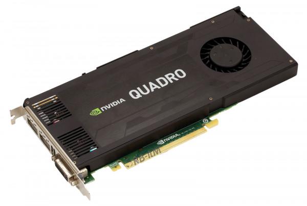 NVIDIA Quadro K4200 - 4GB GDDR5 - 1x DVI-D DL - 2x DP 1.2