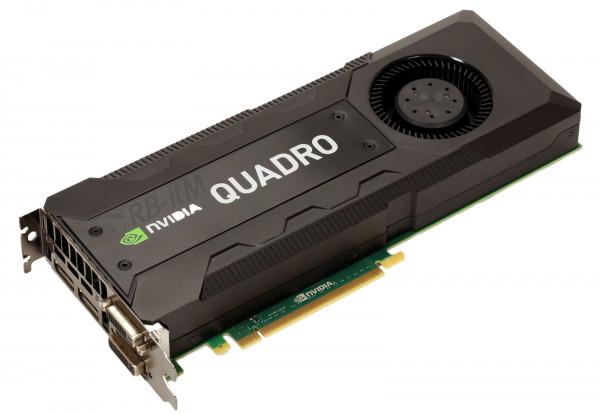 NVIDIA Quadro K5200 - 8GB GDDR5 - 1x DVI-I DL - 1x DVI-D DL - 2x DP 1.2