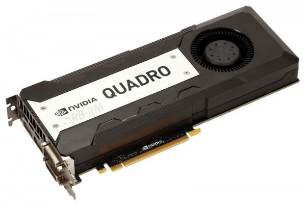 NVIDIA Quadro K6000 - 12GB GDDR5 - 1x DVI-I DL - 1x DVI-D DL - 2x DP 1.2 - Stereo