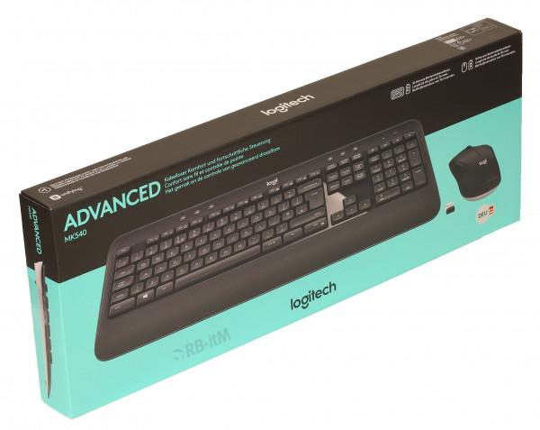 (Neuware) Logitech MK540 Tastatur Maus Set kabellos schwarz OVP