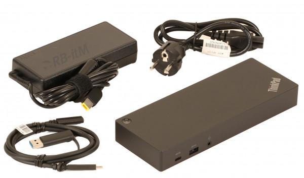 (Neuware) Lenovo ThinkPad 40AF Hybrid USB-C mit USB-A Dock neu OVP