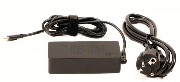 Lenovo 65W (USB-C) mit Netzkabel