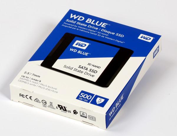 500 GB SSD WD Blue neu